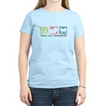 Peace, Love, Tibetan Mastiffs Women's Light T-Shir