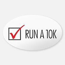 Run a 10k Decal