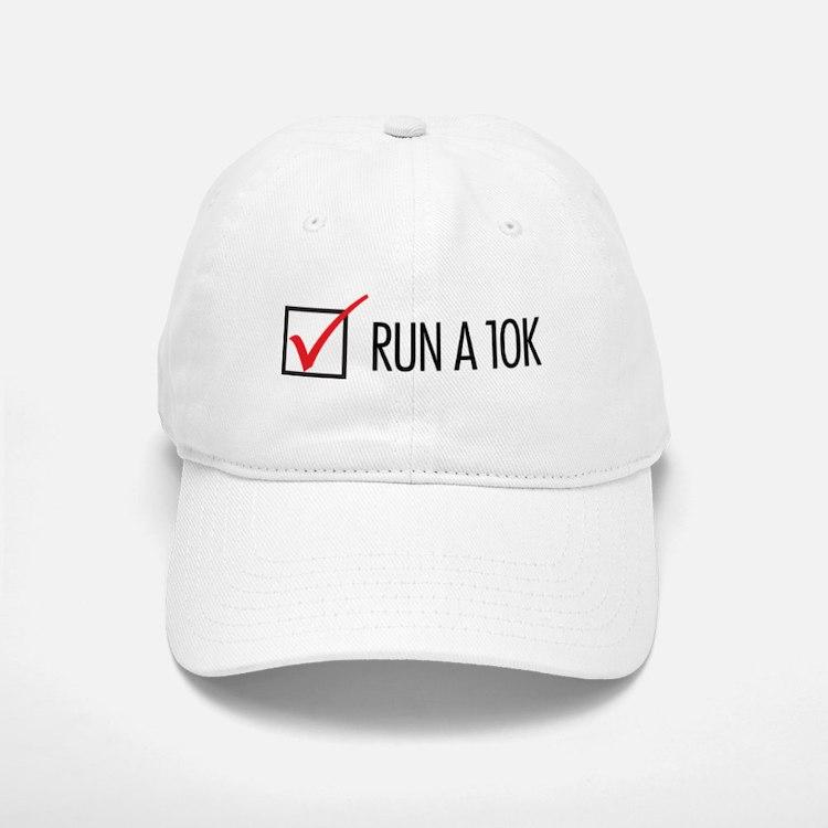 Run a 10k Baseball Baseball Cap