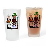 Thanksgiving Drinking Glass