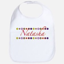 Natasha with Flowers Bib