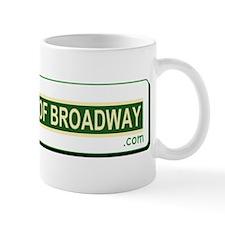 The King Of Broadway Logo Mug