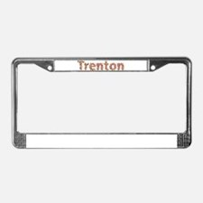 Trenton Fiesta License Plate Frame