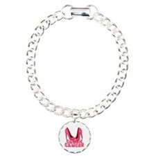 Crush Cancer with Pink Heels Bracelet