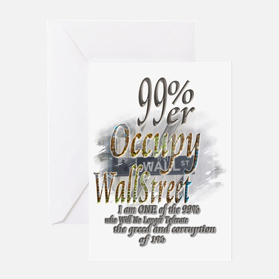 Occupy Wall Street: Greeting Card