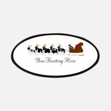 Landseer Sleigh - Your Text Patches