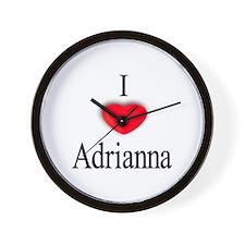 Adrianna Wall Clock