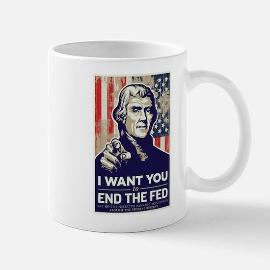 Jefferson End the Fed Mug