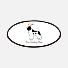 Reindeer Landseer - Your Text Patches