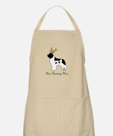 Reindeer Landseer - Your Text Apron