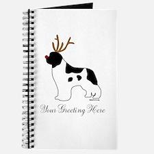 Reindeer Landseer - Your Text Journal