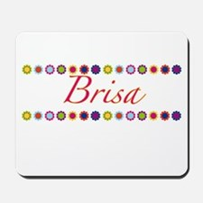 Brisa with Flowers Mousepad