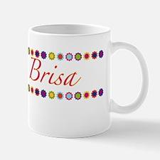 Brisa with Flowers Mug