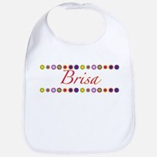 Brisa with Flowers Bib