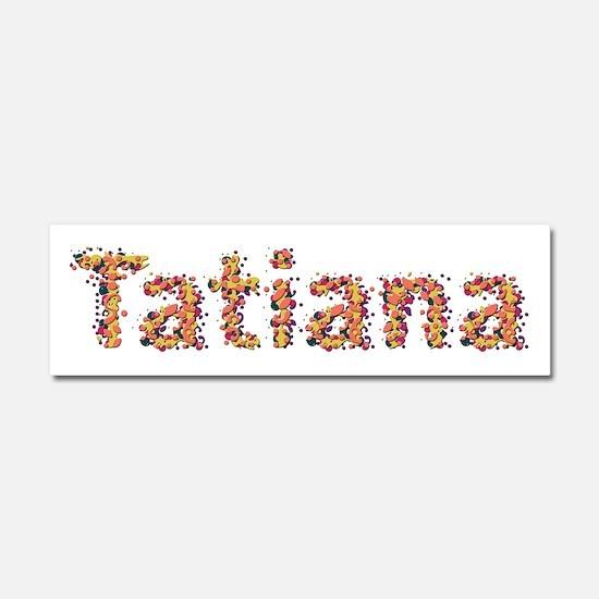 Tatiana Fiesta 10x3 Car Magnet