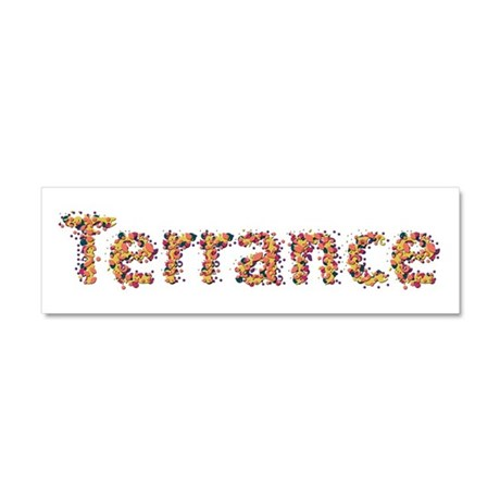 Terrance Fiesta 10x3 Car Magnet