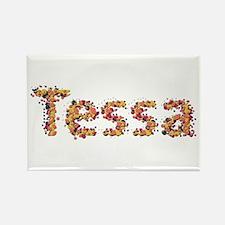 Tessa Fiesta Rectangle Magnet