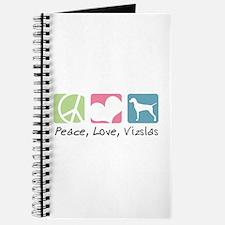 Peace, Love, Vizslas Journal