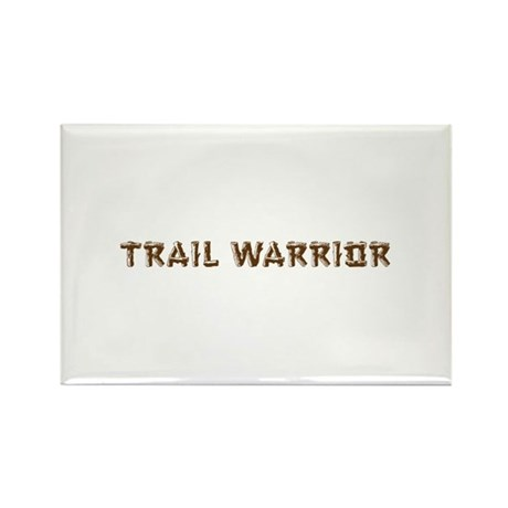 Trail Warrior Rectangle Magnet