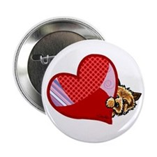 "Love Norwich Terriers 2.25"" Button (10 pack)"