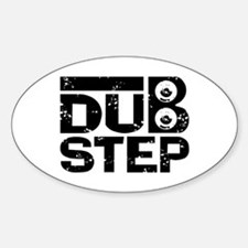 Dubstep Sticker (Oval)