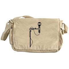 Mic stand Messenger Bag
