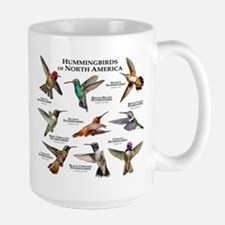 Hummingbirds of North America Ceramic Mugs