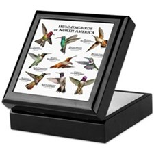 Hummingbirds of North America Keepsake Box
