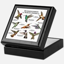 Hummingbirds of North America Keepsake Box