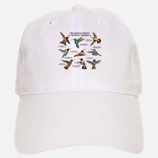 Hummingbirds of North America Baseball Baseball Cap