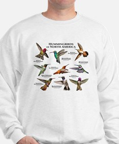 Hummingbirds of North America Sweatshirt