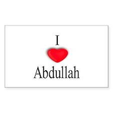 Abdullah Rectangle Decal