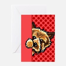 Love Norwich Terriers Greeting Card