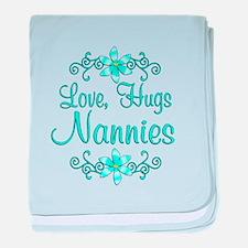 Hugs Nannies baby blanket