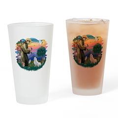 St.Francis #2/ Amer Eskimo (K Drinking Glass
