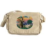 St.Francis #2/ Am Eskimo (2) Messenger Bag