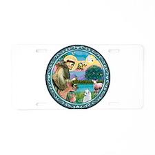 St Francis/Am Eskimo #3 Aluminum License Plate