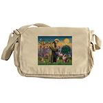 St Francis & Aussie Messenger Bag