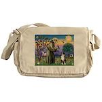 S, Fr, #2/ Australian Shep 2 Messenger Bag