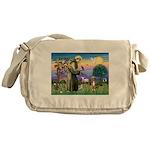 St Francis/Aussie (#5) Messenger Bag