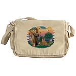 St.Francis #2/ Bel Malanois Messenger Bag