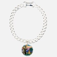 St Francis #2/ B Tervuren Bracelet