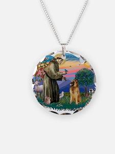 St Francis #2/ B Tervuren Necklace