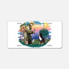 St Francis #2/ BMD Aluminum License Plate
