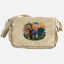 St Francis #2/ Boston T #1 Messenger Bag