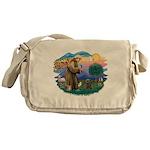 St Francis #2/ Cairn (br) Messenger Bag