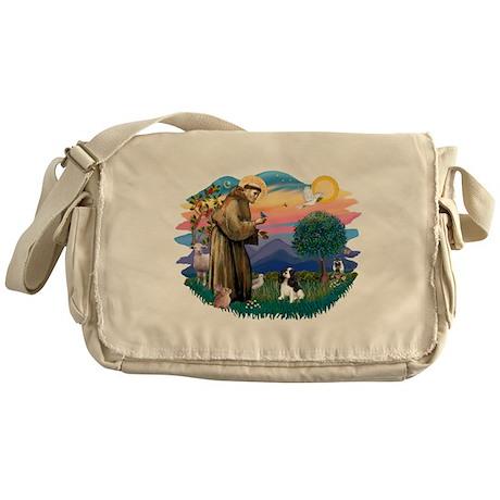 St.Fran #2/ Cavalier (tri) Messenger Bag