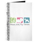 Peace, Love, Fox Terriers Journal