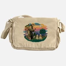 St.Francis #2/ Cockers (2buff Messenger Bag
