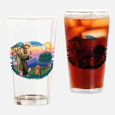 St.Fran #2/ Dachshund (LH-S) Drinking Glass